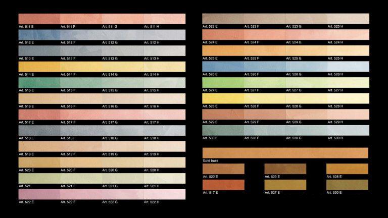 Caravaggio-Colour-Chart