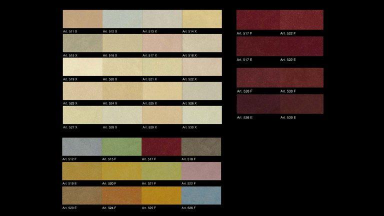 Caravaggio-Pearl-Colour-Chart