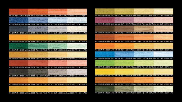 Effetto-Travertino-Colour-Chart