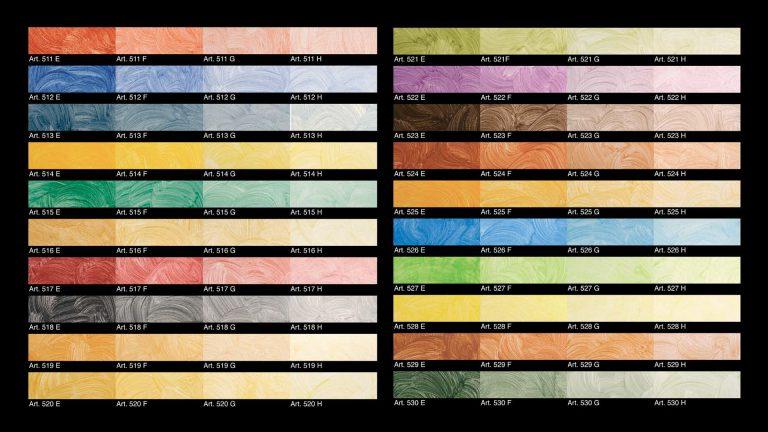Velatura-Classic-Colour-Chart